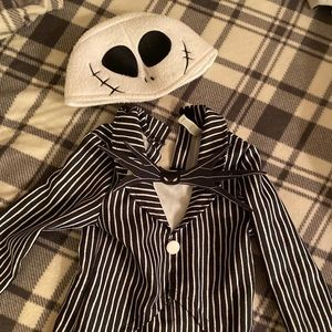 Jack Skellington costume 3-4 toddler